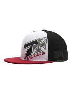 KIMI FAST AS Heck Flatbill Hat - white