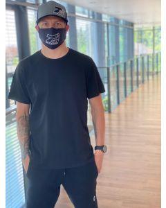 KIMI FACEMASK BLACK MODEL WITH FILTER POCKET